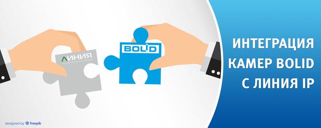 """Сетевые камеры BOLID интегрированы в программное обеспечение """"Линия IP"""" компании """"ДевЛайн""""."""
