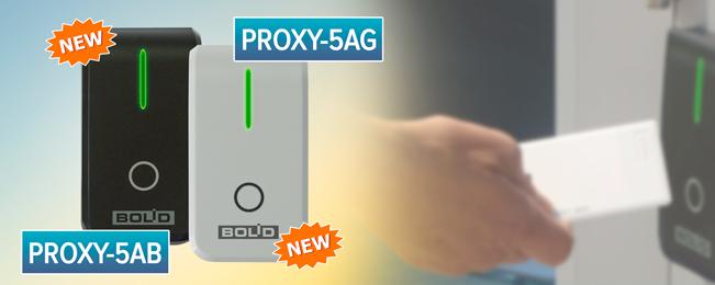 """В продажу поступили считыватели бесконтактные """"Proxy-5AG"""" и """"Proxy-5AB""""."""