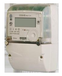 СОЭ-55/60 Ш-Т-215 Однофазные электронные счетчики, предназначены для учета активной электрической энергии в...